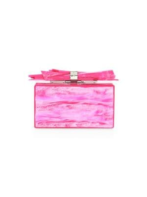 Hot Pink Wolf Shard Clutch
