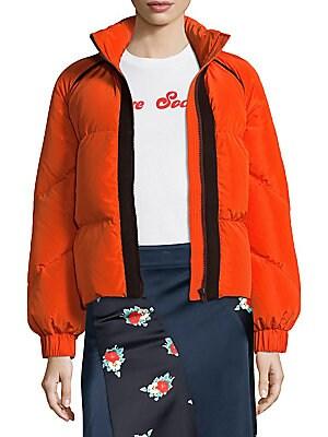 0fc016d63a3e0 GANNI - Fountain Puffer Jacket - saks.com