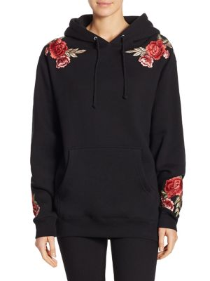 Darren Embroidered Hooded Sweatshirt by PAIGE