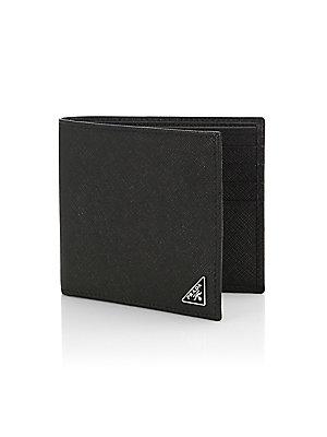 e0e3cc2cc2 Prada - Leather Bifold Wallet - saks.com