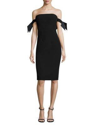 Italian Cady Brit Dress