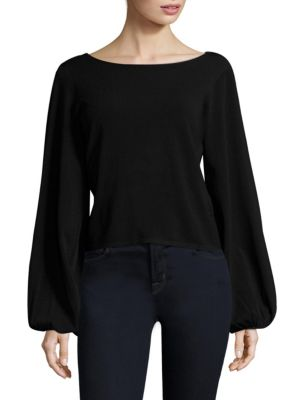 Balloon Sleeve Top by MILLY