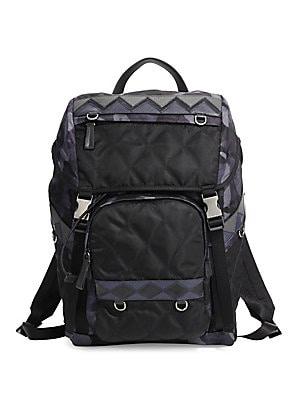 8d69fea3539f Prada - Zaino Quilted Backpack - saks.com
