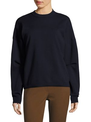 Sculpted Slim-Fit Pullover by Tibi