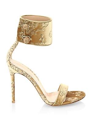 eadae95508e2 Gianvito Rossi - Mekong Velvet Ankle-Strap Slingback Sandals