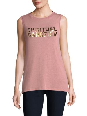 Varsity Tank Top by Spiritual Gangster