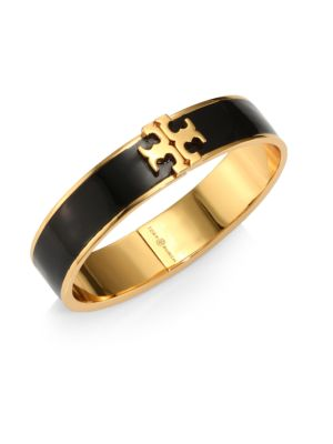 Raised Logo Thin Cuff by Tory Burch