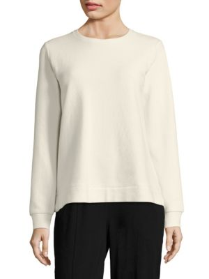 Ottoman Long Sleeve Top by Eileen Fisher