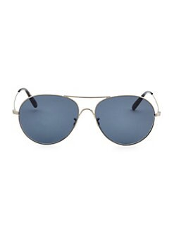 0f7c7296f99 QUICK VIEW. Oliver Peoples. 58MM Rockmore Pilot Sunglasses