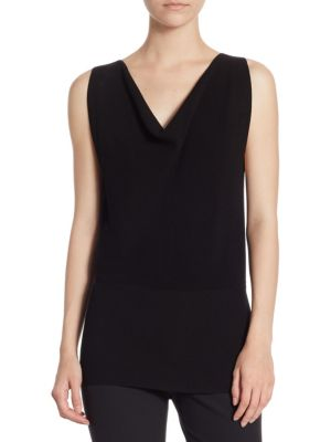 Cowlneck Rib Top by Theory