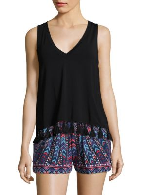 Emory Tassle Top by Tart