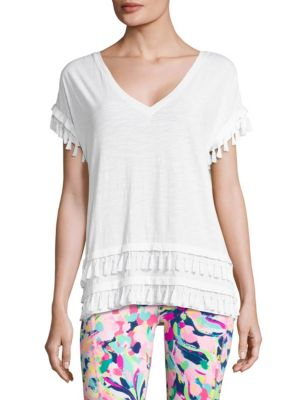 Daley Cotton Tee by Lilly Pulitzer