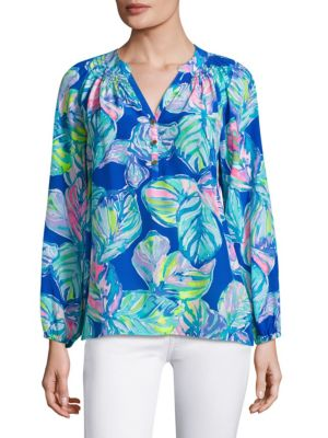 Elsa Silk Top by Lilly Pulitzer