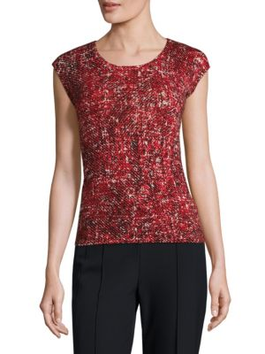 Scash Cashmere Shell Top by Escada