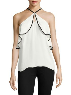 Elli Silk Top by Ramy Brook