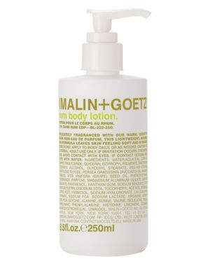 Malin + Goetz Rum Body Lotion/8.5 oz.