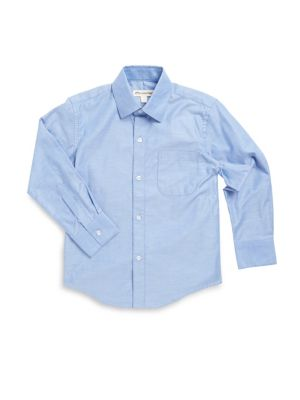 Toddlers Little Boys  Boys Standard Collared Shirt