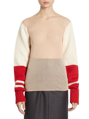 Knit Wool Top by CALVIN KLEIN 205W39NYC