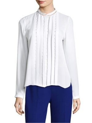 Fontaine Silk Blouse by Elie Tahari