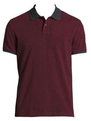 Moncler Cottons Maglia Cotton Polo