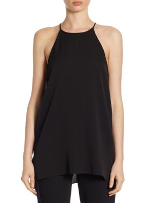 Woven Plain Camisole by Halston Heritage