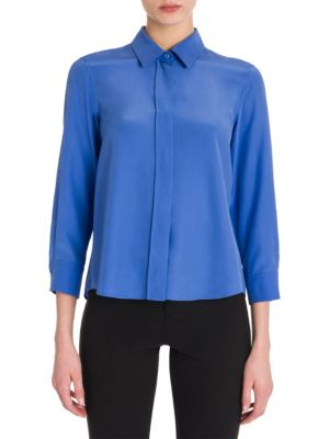 Valentina Silk Blouse by Jil Sander