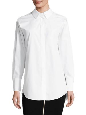 Nely Cotton Poplin Shirt by Escada Sport