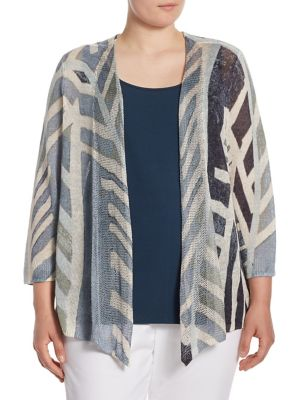 Shore Pine Cardigan by NIC+ZOE Plus