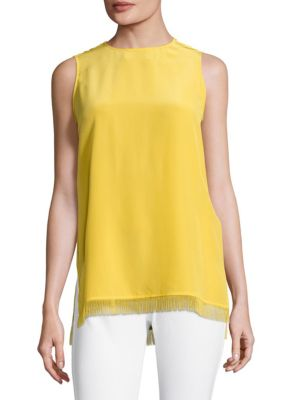Narra Sleeveless Silk Top by Escada Sport