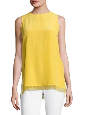 Narra Sleeveless Silk Top by Escada Sport