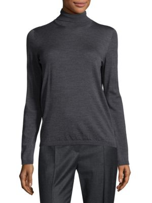 Trine Wool Turtleneck Top by Max Mara