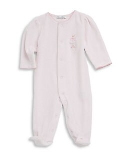 c21af422d2 Kissy Kissy. Baby Girl s Embroidered Footie