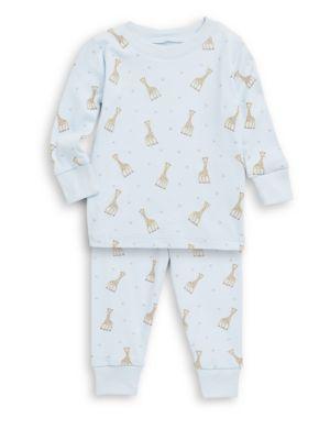 Kissy Kissy Baby Boy S Little Boy S Sophie La Girafe Printed Cotton Pajama Set