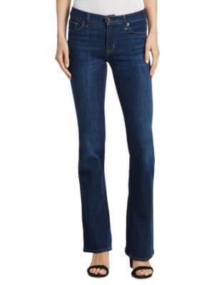 Hudson  Drew Mid-Rise Bootcut Denim Jeans
