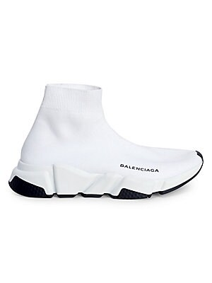 a5a7b7fbe166 Balenciaga - Speed Sock Stretch-Knit Sneakers - saks.com