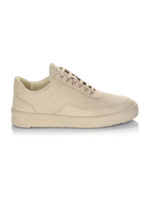 Mondo Low Top Leather Sneakers by Filling Pieces