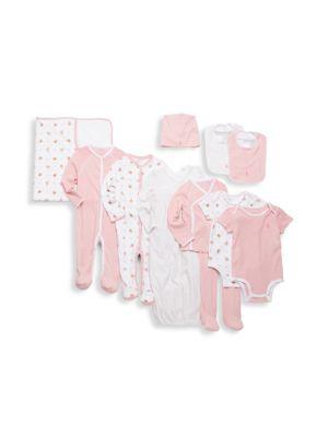 Baby Girls 11Piece Gift Box Set