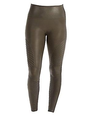 5ef752a03af Spanx - Faux Leather Shaping Leggings - saks.com