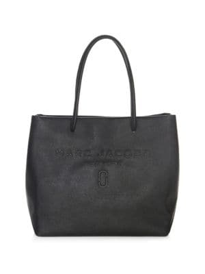marc jacobs female logo shopper eastwest tote