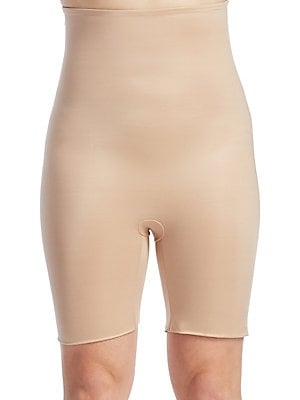 69f3fdd136 Spanx - Plus Power Conceal-Her Extended Length Power Panty