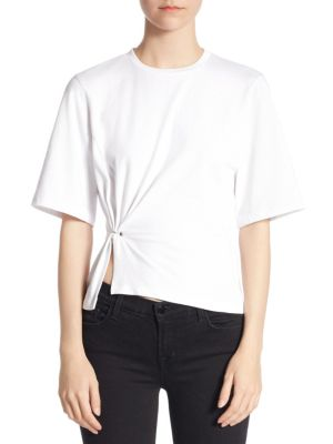 Short Sleeve Cotton Tee by 3.1 Phillip Lim