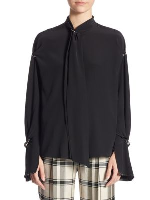 Silk Bell Sleeves Blouse by 3.1 Phillip Lim