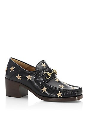 d54666080f3 Gucci - Vegas Star Leather Loafers - saks.com