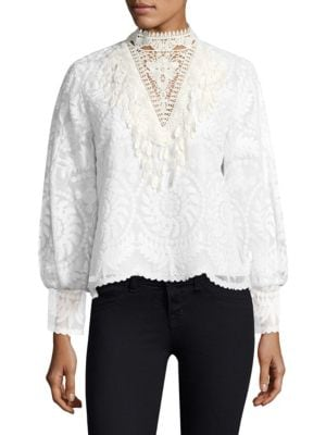 Yadira Silk Blouse by KOBI HALPERIN