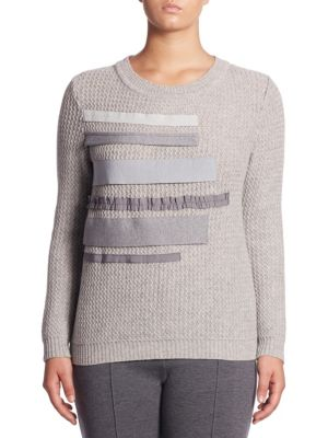 Classic-Fit Knitted Sweater by Stizzoli, Plus Size