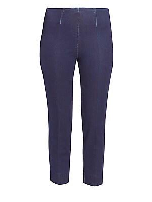 594983432c97 Piazza Sempione - Audrey Cropped Denim Pants - saks.com