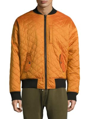 MOSTLY HEARD RARELY SEEN Long-Sleeve Firea Bomber in Yellow