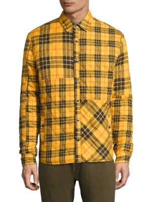 MOSTLY HEARD RARELY SEEN Textured Cotton Shirt in Yellow