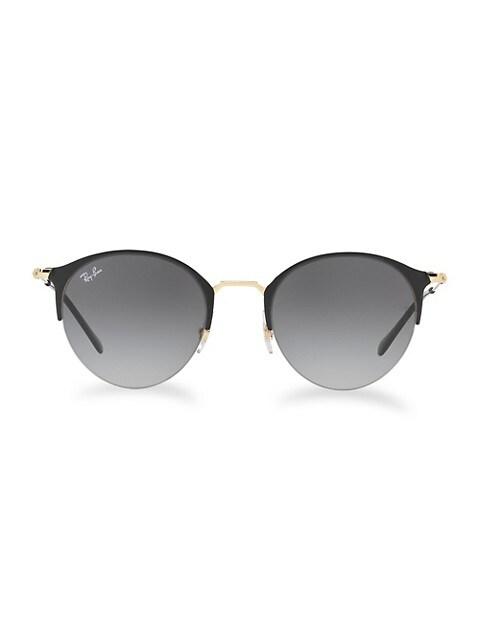 RB3578 51MM Gradient Round Sunglasses