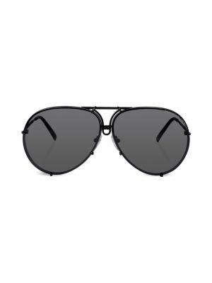 4ff5bcf7a7f Porsche Design - P´8478 69MM Interchangeable Aviator Sunglasses ...